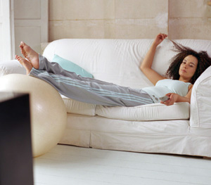 Avoid couch potato syndrome