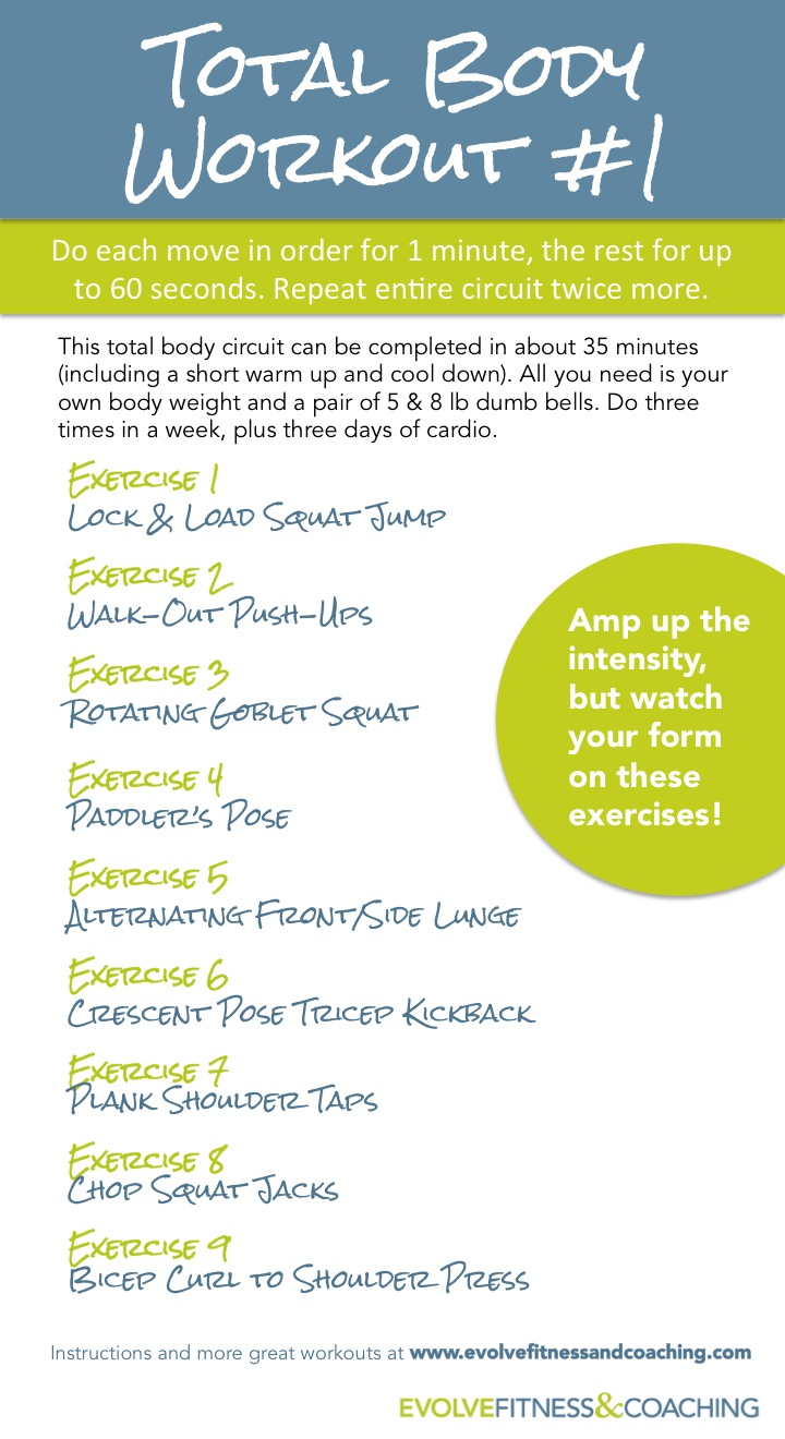 Total Body Workout 1